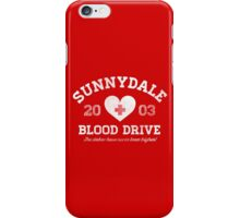 Sunnydale Blood Drive iPhone Case/Skin