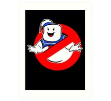 Puft Busters  Art Print