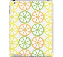 Citrus Pattern  - Orange, Lime, Lemon iPad Case/Skin