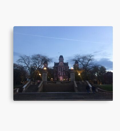 Hall of Languages Canvas Print