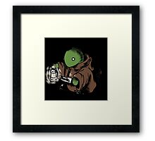 Don Tomberry is coming to kill you Framed Print