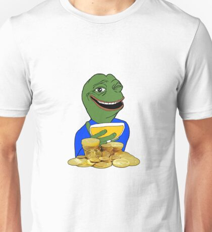 Pepe the Rich Frog#1 Unisex T-Shirt