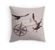 Northern Exposure Waterfowl Throw Pillow