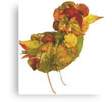 Little Bird of Fall Canvas Print