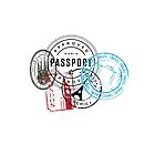 Travel Stamps by Bethanine28