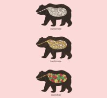 The Eating Habits of Bears Kids Clothes