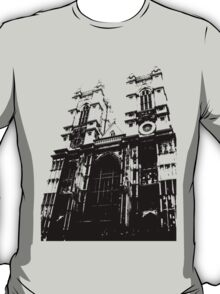 Westminster Abbey Pen and Ink,  London, England, UK T-Shirt