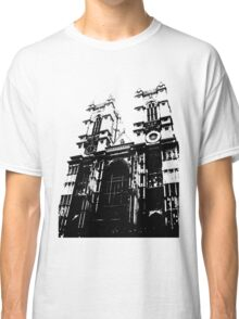 Westminster Abbey Pen and Ink,  London, England, UK Classic T-Shirt