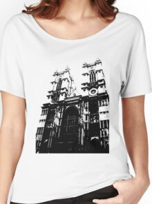 Westminster Abbey Pen and Ink,  London, England, UK Women's Relaxed Fit T-Shirt