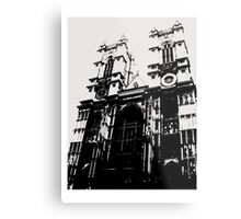 Westminster Abbey Pen and Ink,  London, England, UK Metal Print