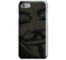 V For Vendetta You May Call Me V iPhone Case/Skin