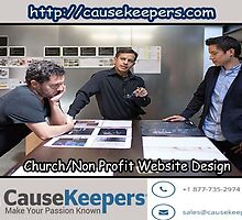 Church Website Designing - Nonprofit / Ministry Social Media Management by annehowtt