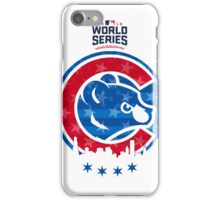 Cubby World series Champs - clean iPhone Case/Skin