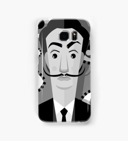 surrealist painter on oniric eyes background Samsung Galaxy Case/Skin