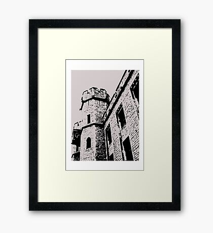 Tower of London Pen and Ink Framed Print