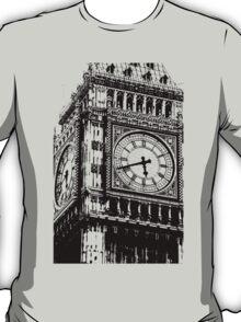 Big Ben Face - Palace of Westminster, London  T-Shirt