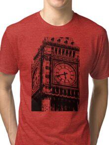 Big Ben Face - Palace of Westminster, London  Tri-blend T-Shirt