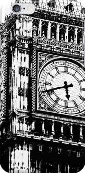 Big Ben Face - Palace of Westminster, London  by CorrieJacobs