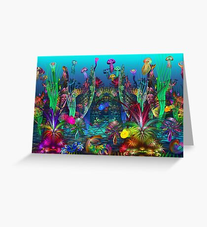 The Happy Apo Reef Greeting Card