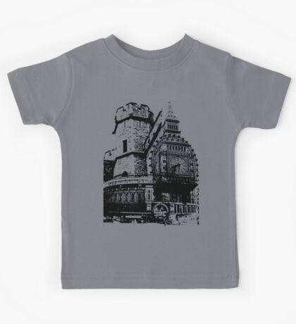 London Composite Pen and Ink Kids Tee