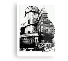 London Composite Pen and Ink Metal Print