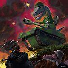 Dinosaur War 01 by martyee