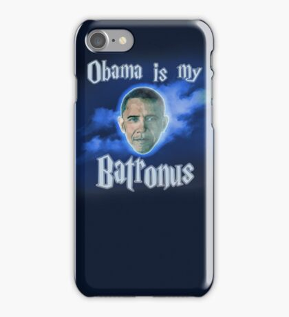 Obama Is My Batronus iPhone Case/Skin