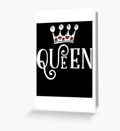 Queen Crown  Greeting Card