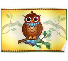 Big Brown Owl  Poster