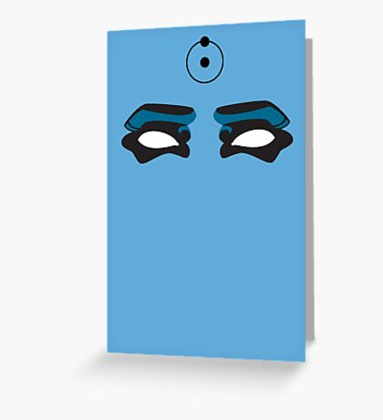 The Doctor Is Watching - Watchmen Comic Greeting Card