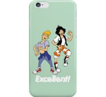 Bill and Ted - Group 05 - Excellent - Air Guitars - White Font iPhone Case/Skin