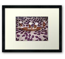 African Boat People 1 Framed Print
