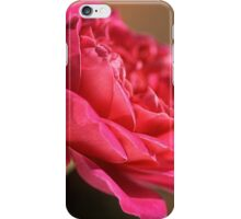 Hot Pink Rose iPhone Case/Skin