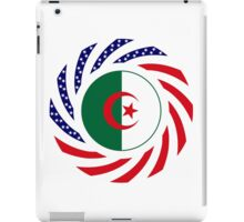 Algerian American Multinational Patriot Flag iPad Case/Skin