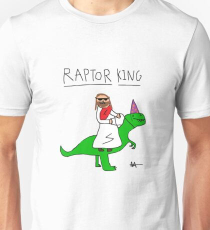 Jesus The Raptor King Unisex T-Shirt