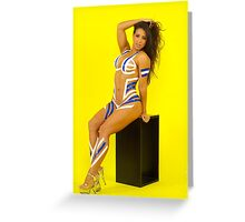 Fit Woman - Body Tape Greeting Card