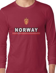 Norway National Sport Game Long Sleeve T-Shirt