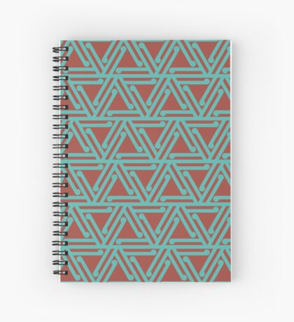 Ahuriri Summer (scorched sea) Spiral Notebook