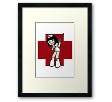 Hello, Nurse! Framed Print