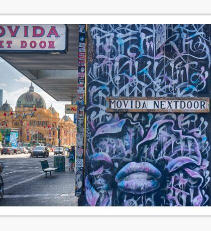 Movida Next Door Sticker