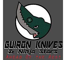 Guiron Knives & Ninja Stars Photographic Print