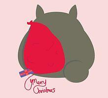 TOTORO CHRISTMAS SACK CARD by XEENYEE
