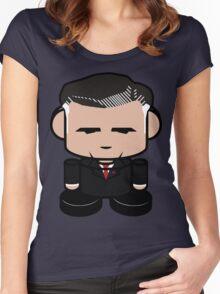 Mitt Romneybot 1.0 Women's Fitted Scoop T-Shirt