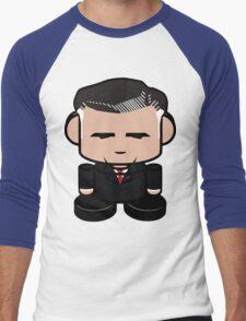 Mitt Romneybot 1.0 Men's Baseball ¾ T-Shirt