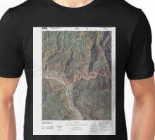 USGS TOPO Map Colorado CO Glenwood Springs 20110506 TM Unisex T-Shirt