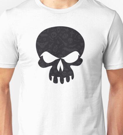 Dark Halloween Pattern Unisex T-Shirt