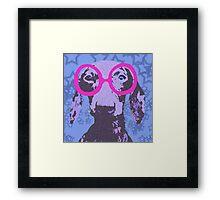 Nerdachshund Framed Print
