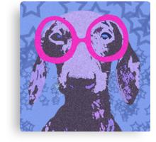 Nerdachshund Canvas Print