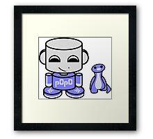 Popo Yo O'babybot (and Rawr) Framed Print