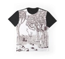 Quiver Tree Forest - Namibia Graphic T-Shirt